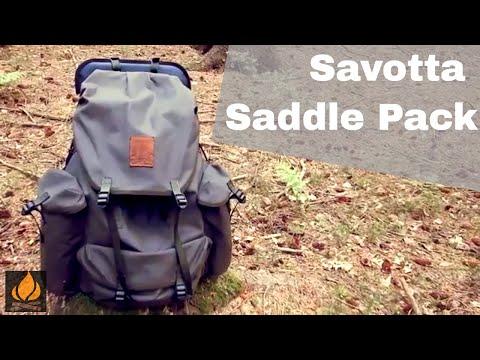 Savotta Saddle Pack 339 Review Classic Line Bushcraft Rucksack Außentragegestell (Engl. Subs)