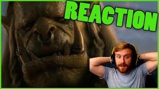 SAURFANG: OLD SOLDIER REACTION | New Varok Saurfang Cinematic Reaction World of Warcraft BfA