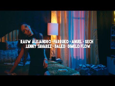 Rauw Alejandro - Elegí Remix (feat. Anuel AA, Farruko, Dalex, Lenny...