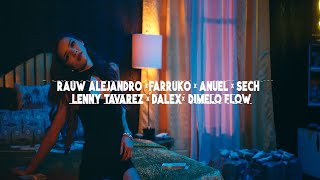 Rauw Alejandro, Anuel, Farruko, Dalex, Lenny, Sech, Dimelo, J Quiles - Elegí Remix (Video Oficial)