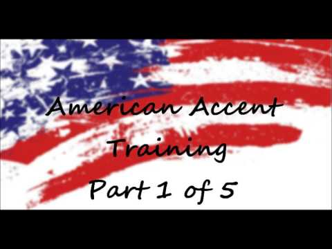 American Accent Training -Free Online Course- Part 1 of 5 - YouTube