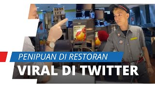 Viral di Media Sosial Karyawan McDonald's Lakukan Kecurangan Transaksi