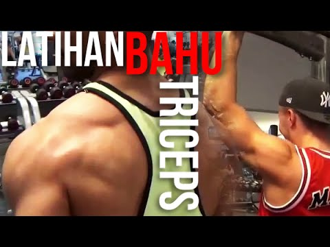 Video LATIHAN OTOT BAHU/TRAPS/TRICEPS DI GYM | BERSAMA THOBY [1]