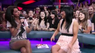 Selena Gomez Raps On New.Music.Live. (HD)
