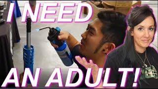 I NEED AN ADULT! (Airsoft Palooza VLOG)
