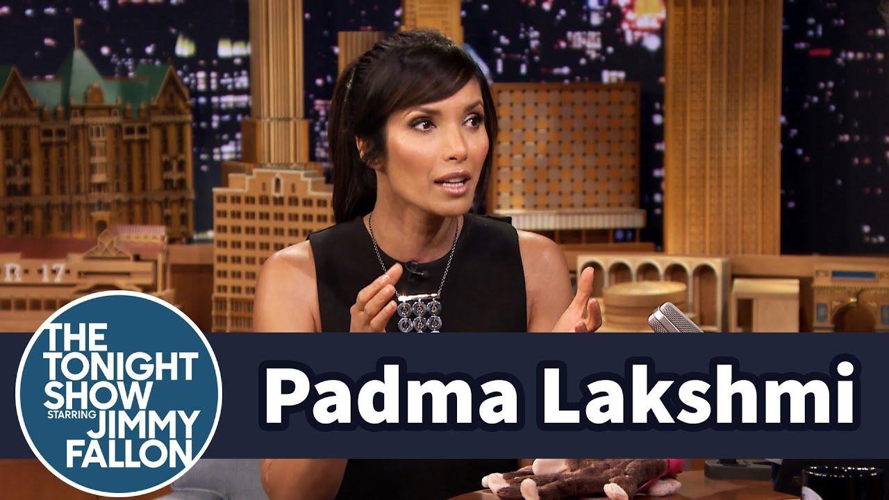 Padma Lakshmi Gives Thanksgiving Hosting Tips thumbnail