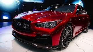 Watch the Infiniti Eau Rouge concept sports car debut at the Detroit Auto Show