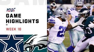 Cowboys vs. Eagles Week 16 Highlights | NFL 2019