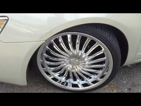 "WINSTON SALEM RYMTYME ROLLS OUT A 2006 LINCOLN ZEPHYR WITH 20"" KRONIK PSYKOSIS RIMS"