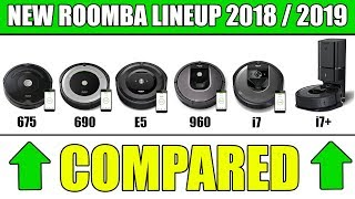 NEW Roomba Models Compared i7 vs i7+ vs 675 vs 690 vs E5 vs 960 vs 980