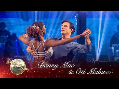 Danny & Oti American Smooth to 'Misty Blue' by Dorothy Moore – Strictly Come Dancing 2016: Week 12