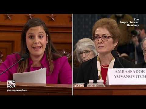 WATCH: Rep. Elise Stefanik questions Amb. Yovanovitch about Burisma