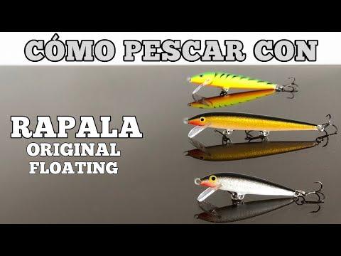 Cómo Pescar Con Un RAPALA Original -- Las 2 mejores técnicas para usar!