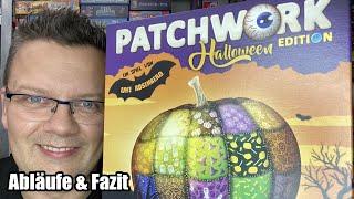 Patchwork Halloween Edition (Lookout) - 2er Spiel ab 8 Jahre