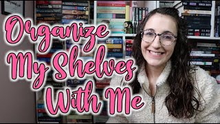 Organize My Shelves With Me [all Of My Historical Romances!]
