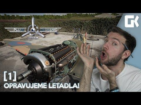 OPRAVUJEME LETADLA!   Plane Mechanic Simulator