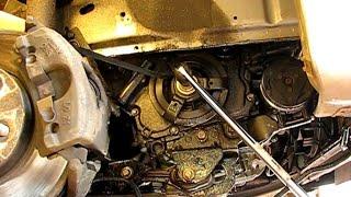 How to remove a crankshaft pulley bolt