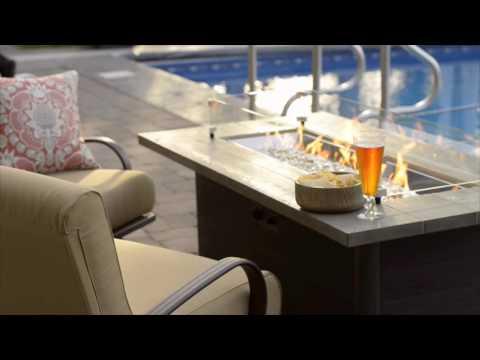 Cedar Ridge Fire Table - The Outdoor GreatRoom Company