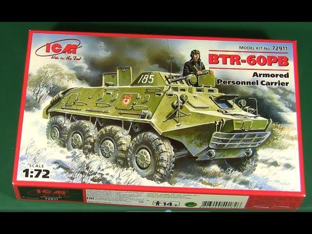 ICM 72911 BTR-60 PB in 1:72