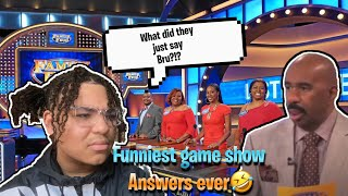 The CRAZIEST Gameshow Answers Ever!!!😱😂🔥 (reaction) | mosthatedjc