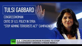 'Stop arming terrorists': Congresswoman urges US to stop its policy of regime change