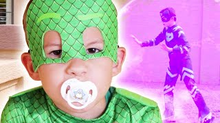 PJ Masks In Real Life! 🔴  PJ Babies, Giant Catboy and more! 🌟 24/7 Full Episodes