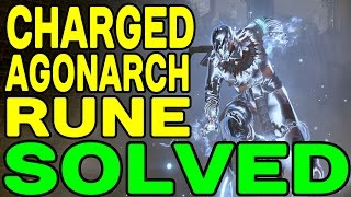 DESTINY: Charged Agonarch Rune SOLVED (Location and How to Use) !!