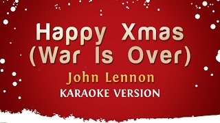 John Lennon - Happy Xmas (War Is Over) (Karaoke Version)