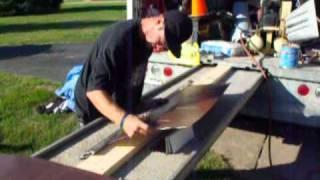 making stepflashing using the stealth 4' flashing brake