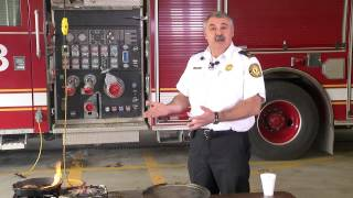 Wrong vs. right way to put out a grease fire | Ohio State Medical Center