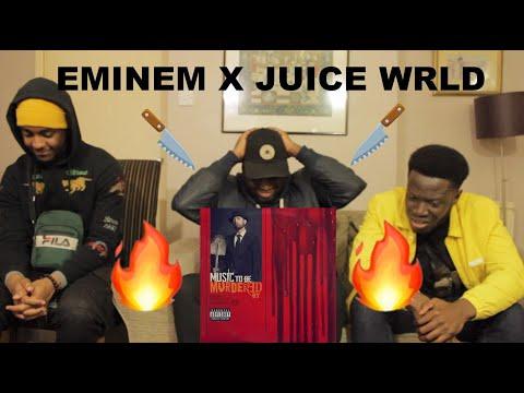 Eminem - Godzilla ft. Juice WRLD| (REACTION)
