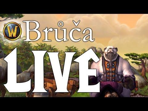 Brůča 32: live stream (levelování)