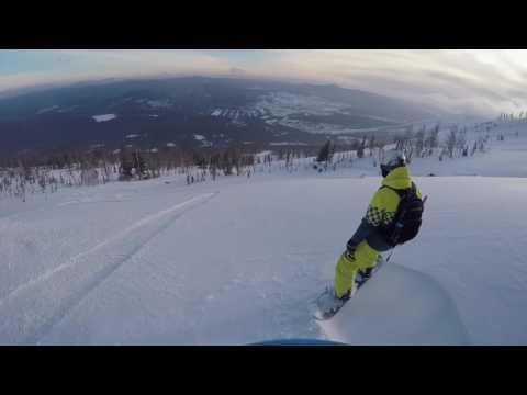 , title : 'Спуск с горы Мустаг на сноуборде.Шерегеш'