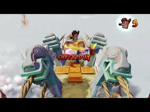 Žaidimas Crash Bandicoot N. Sane Trilogy, Xbox One kaina ir informacija   Kompiuteriniai žaidimai   pigu.lt