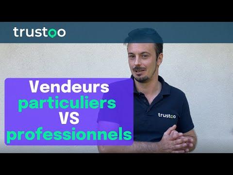 Vendeurs particuliers VS professionnels