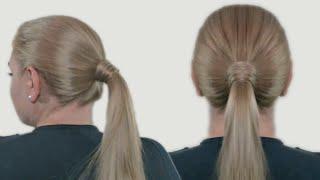 Делаем конский хвост: подробная инструкция - Видео онлайн