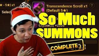 Summoners War - CHRISTMAS SUMMONS STREAM