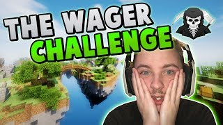 HILARIOUS WAGER CHALLENGE! ( Hypixel Skywars )
