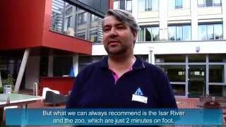 preview picture of video 'DJH Jugendherberge München Park - HI Munich Park Hostel'