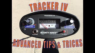 Bounty Hunter Metal Detector Tracker IV Review Demonstration and Advanced Tips and How To Operate