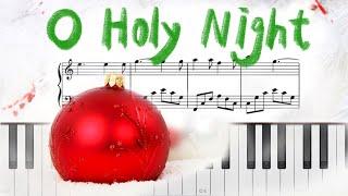 O Holy Night (쉬운악보)