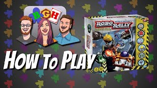 How to Play: RoboRally