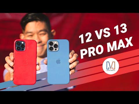 iPhone 13 Pro Max vs iPhone 12 Pro Max |  CAMERA COMPARISON