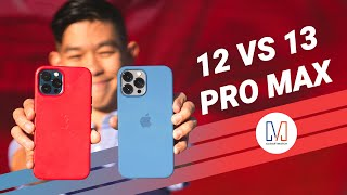 iPhone 13 Pro Max vs iPhone 12 Pro Max -  CAMERA COMPARISON
