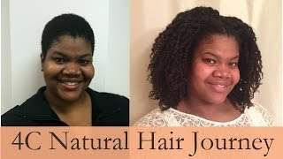 4C Natural Hair Journey