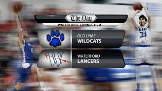 Old Lyme at Waterford boys' basketball