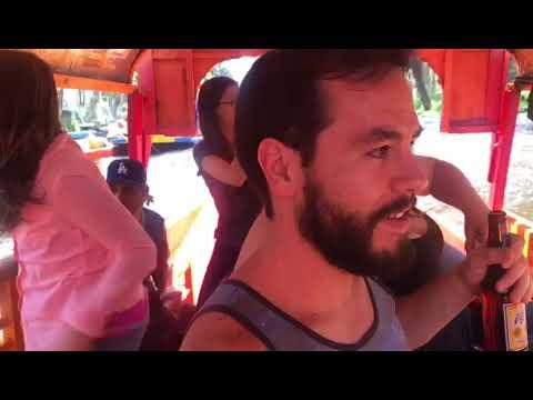 Oh my God gritan los extranjeros en Xochimilco en pleno sismo
