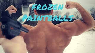 SHOT WITH FROZEN PAINTBALLS | Experiment Gone Wrong BLOOD | Crazy Paintball Guns Experiment Fail