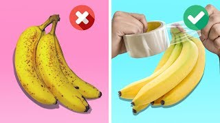 21 ULTIMATE BANANA HACKS