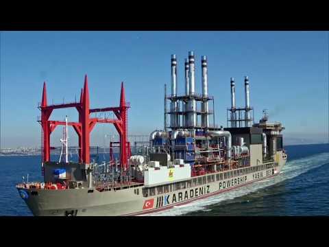 "Karadeniz Powership Yasin Bey on Discovery Channel's ""Mighty Ships""   Trailer"